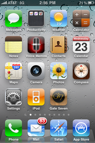 G87 iPhone icon!